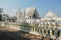 White temple, Chiang Rai, Thailand Royalty Free Stock Image