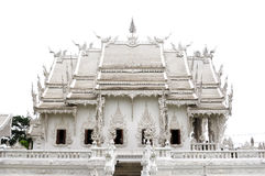 White Temple in Chiang Rai,Thailand Royalty Free Stock Photos