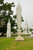 White Temple Chiang Rai Thailand Stock Images
