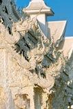 White Temple, Chiang Rai, Thailandia. Stock Image