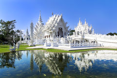 White Temple in Chiang Rai. Stock Photography