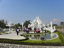 """The White Temple"" in Chiang Ria, Thailand Royalty Free Stock Image"