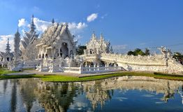 White Temple Stock Image