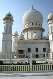 White temple dome. White temple white high dome in India Stock Photography