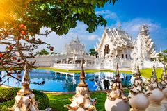 Free White Temple In Chiang Rai Stock Photography - 161222312