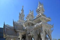 White temple. [Rong Khun Temple], Chiang Rai, Thailand Stock Photo