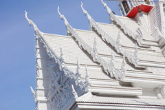 White temple roof b Stock Image