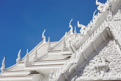 White temple roof a Stock Images