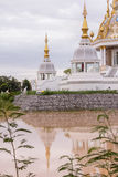 White Temple in thai Royalty Free Stock Photography