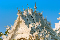 White Temple, Thailand. royalty free stock image