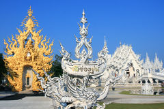 White Temple, Thailand Stock Images