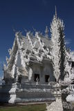 The White Temple in Thailand Stock Images
