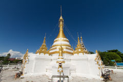 White temple thailand Royalty Free Stock Image
