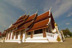 White temple at Wat Boon Yuen ,Nan, Thailand Royalty Free Stock Photography