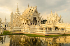 White Temple (Wat Rong Khun) Royalty Free Stock Photos