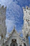 White temple, wat rong khun, Chiang Rai Royalty Free Stock Images