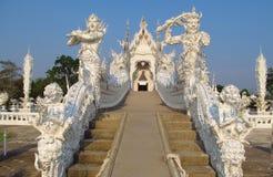 White Temple Wat Rong Khun inChiang Rai Stock Photos
