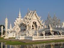 White Temple Wat Rong Khun inChiang Rai Stock Photo