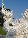 White Temple Wat Rong Khun inChiang Rai Stock Photography