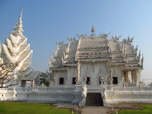 White Temple Wat Rong Khun in Chiang Rai Royalty Free Stock Images