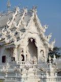 White Temple Wat Rong Khun inChiang Rai Royalty Free Stock Photo