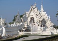 White Temple Wat Rong Khun inChiang Rai Royalty Free Stock Image
