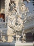 White Temple Wat Rong Khun inChiang Rai Royalty Free Stock Images