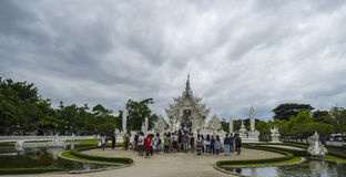 White Temple, Wat Rong Khun, Chiang Rai Stock Images