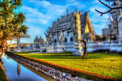 White Temple, Wat Rong Khun in Chiang Rai Royalty Free Stock Photo