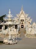 White Temple Wat Rong Khun inChiang Rai, Thailand Royalty Free Stock Photo