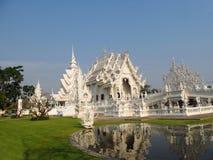 White Temple Wat Rong Khun inChiang Rai, Thailand Royalty Free Stock Image