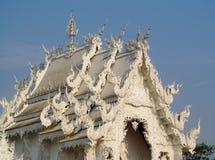 White Temple Wat Rong Khun inChiang Rai, Thailand Stock Photos