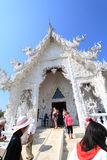 White Temple, Wat Rong Khun in Chiang Rai, Thailand Royalty Free Stock Image