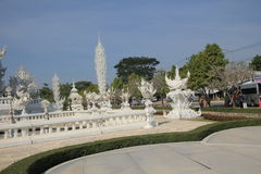 White Temple, Wat Rong Khun in Chiang Rai, Thailand Stock Photography