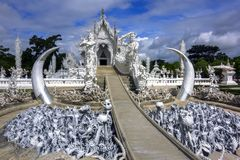 White Temple. Stock Images