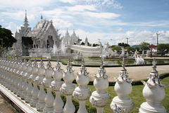 The White Temple Wat Rong Khun in Thailand Royalty Free Stock Image