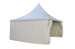 White tent Stock Images