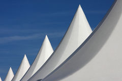 White tents Stock Photos
