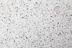 White terrazzo floor background Royalty Free Stock Image