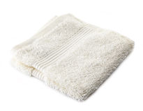 White terry towel Stock Photo