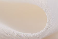White textile background Royalty Free Stock Photography
