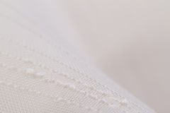 White textile background Stock Photos