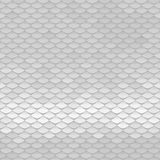 White texture. Abstract scale pattern. Roof tiles background. Royalty Free Stock Photo