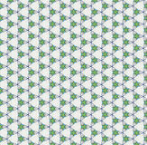 White texture with green stars Stock Photo