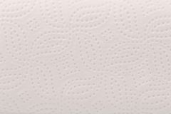 White texture of paper napkin. Royalty Free Stock Photo