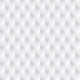 White texture - seamless. White decorative geometric texture - seamless vector background Stock Image