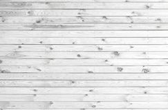 White wooden planks Royalty Free Stock Photos
