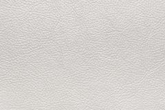 White textured leather. Flat surface. Background image, texture.  royalty free stock photo