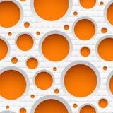 White textured plactic seamless pattern Royalty Free Stock Photos