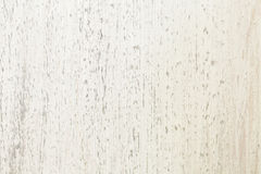 White textured wooden Board. white background Royalty Free Stock Photography
